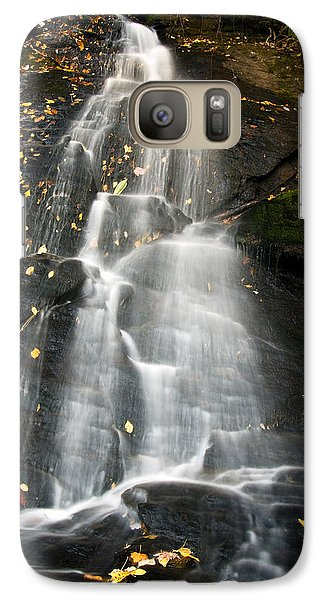 Galaxy Case featuring the photograph Juney Whank Falls by Bob Decker