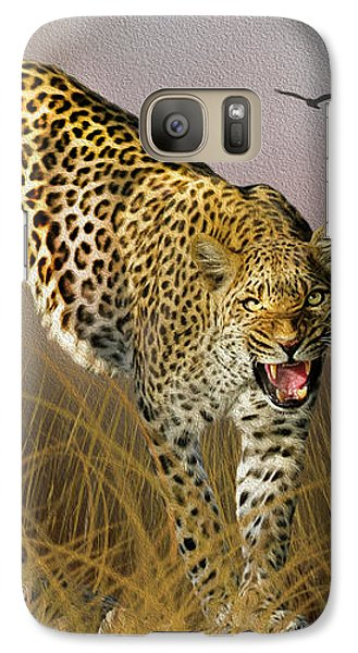 Galaxy Case featuring the photograph Jungle Attitude by Diane Schuster