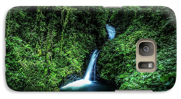 Galaxy Case featuring the photograph Jungle Waterfall by Nicklas Gustafsson