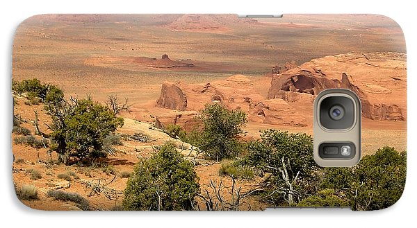 Galaxy Case featuring the photograph Juniper On The Mesa by Fred Wilson