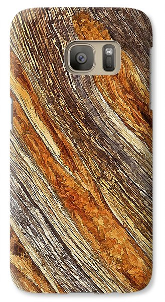 Galaxy Case featuring the photograph Juniper Texture by ABeautifulSky Photography