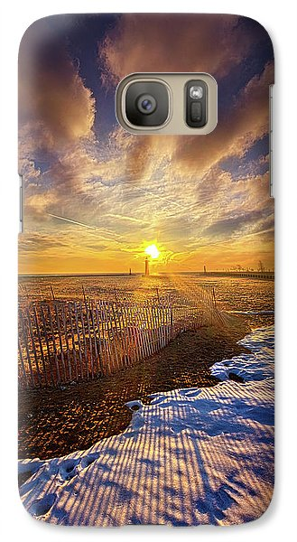 Galaxy Case featuring the photograph Just A Bit More To Go by Phil Koch