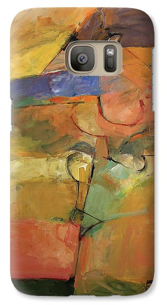 Galaxy Case featuring the painting Just A Pose by Cliff Spohn