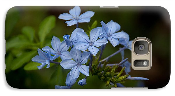Galaxy Case featuring the photograph Just A Touch Of Blue by Monte Stevens