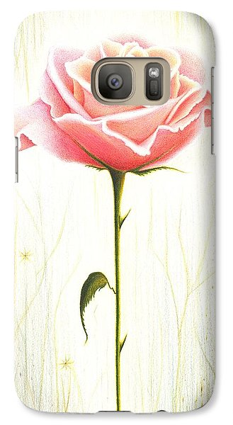 Galaxy Case featuring the drawing Just Another Common Beauty by Danielle R T Haney