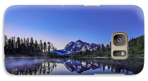 Galaxy Case featuring the photograph Just Before The Day by Jon Glaser
