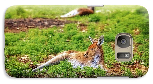 Galaxy Case featuring the photograph Just Chillin, Yanchep National Park by Dave Catley