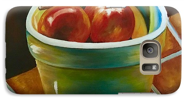 Galaxy Case featuring the painting Just Fruit Reflections by Susan Dehlinger