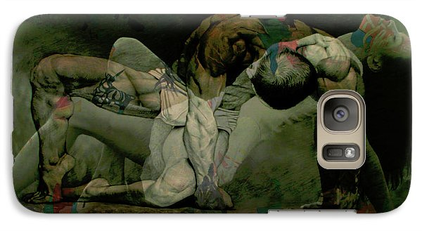 Galaxy Case featuring the digital art Just Give Me A Reason by Paul Lovering