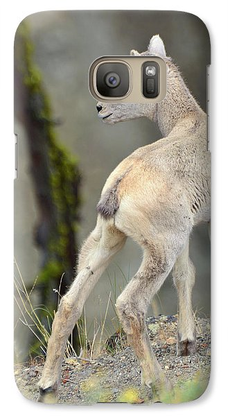 Galaxy Case featuring the photograph Just Kidding Around by Bruce Gourley