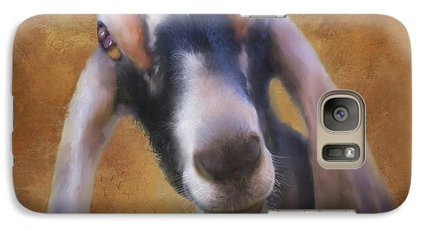 Galaxy Case featuring the mixed media Just Kidding Around by Colleen Taylor