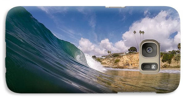 Galaxy Case featuring the photograph Just Me And The Waves by Sean Foster