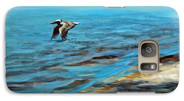 Galaxy Case featuring the painting Just Passing By by Suzanne McKee