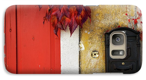 Galaxy Case featuring the photograph Just Red by Yuri Santin