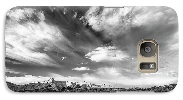 Galaxy Case featuring the photograph Just The Clouds by Jon Glaser