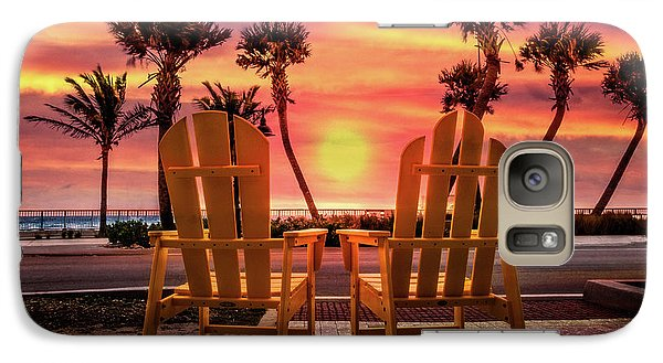 Galaxy Case featuring the photograph Just The Two Of Us by Debra and Dave Vanderlaan