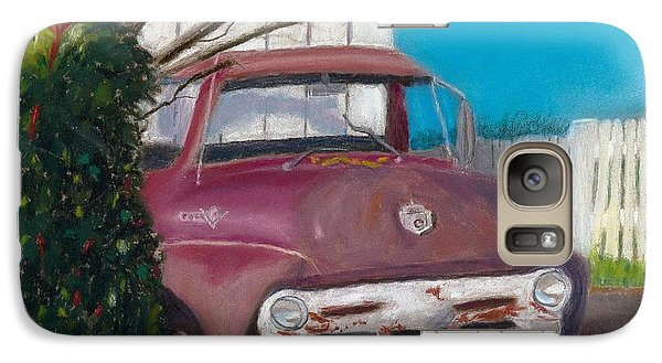Galaxy Case featuring the painting Just Up The Road by Arlene Crafton