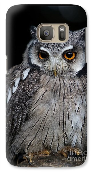 Galaxy Case featuring the photograph Just Waiting by Gary Bridger