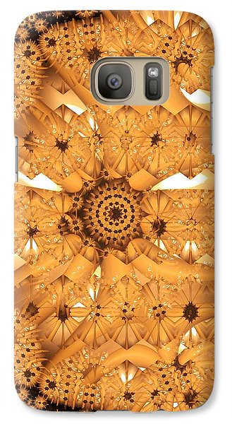 Galaxy Case featuring the digital art Juxtapose by Ron Bissett