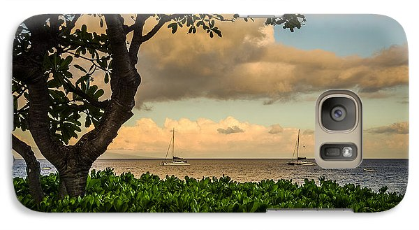 Galaxy Case featuring the photograph Ka'anapali Plumeria Tree by Kelly Wade