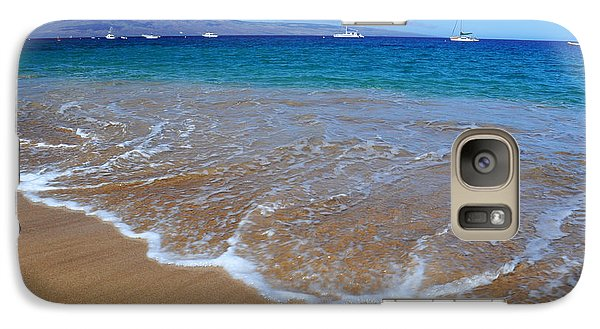 Galaxy Case featuring the photograph Ka'anapali Waves by Kelly Wade