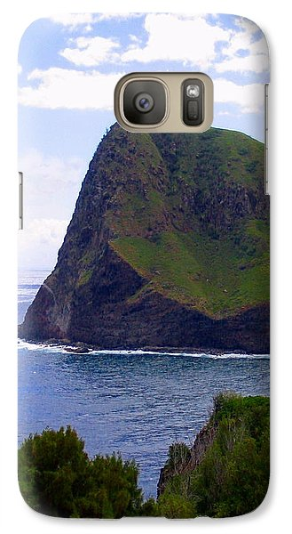 Galaxy Case featuring the photograph Kahakuloa Point- Island Dreaming by Diane Merkle