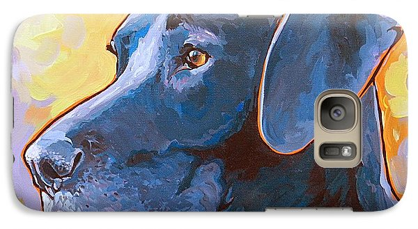Galaxy Case featuring the painting Kaia by Nadi Spencer