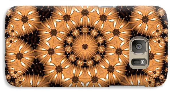 Galaxy Case featuring the digital art Kaleidoscope 131 by Ron Bissett