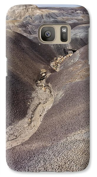 Galaxy Case featuring the photograph Kaleidoscope Landscape by Melany Sarafis