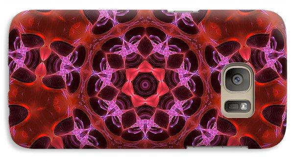 Kaleidoscope With Seven Petals Galaxy S7 Case