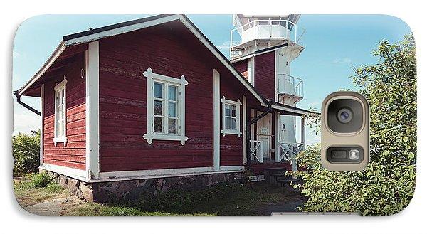 Galaxy Case featuring the photograph Kallo Lighthouse by Ari Salmela