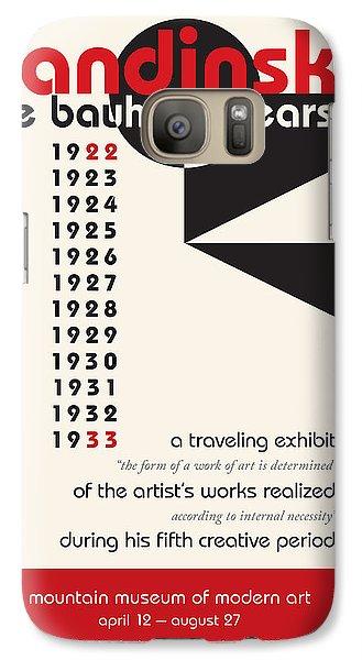 Galaxy Case featuring the digital art Kandinsky 1 by Chuck Mountain
