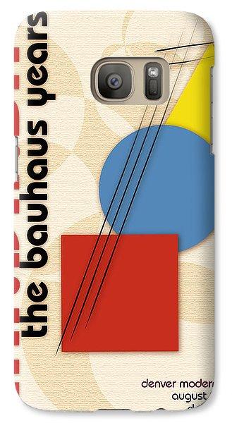 Galaxy Case featuring the digital art Kandinsky 3 by Chuck Mountain