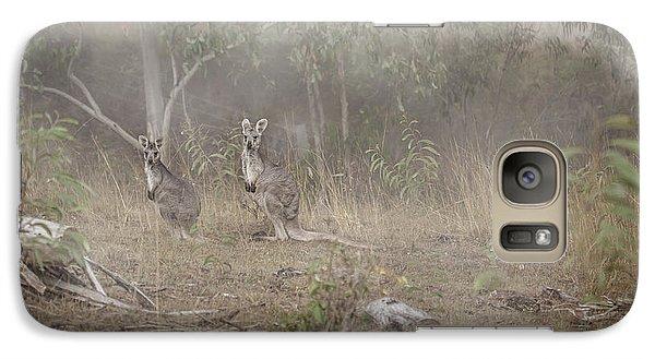Kangaroos In The Mist Galaxy S7 Case