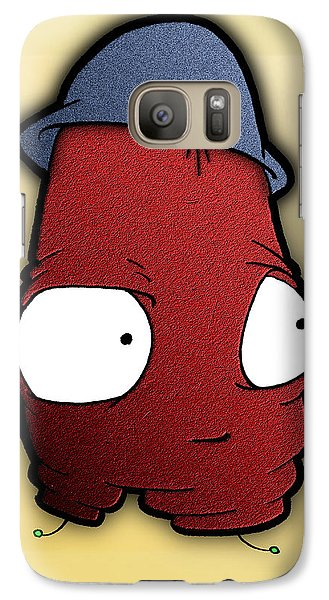 Galaxy Case featuring the digital art Kangol Kool by Uncle J's Monsters