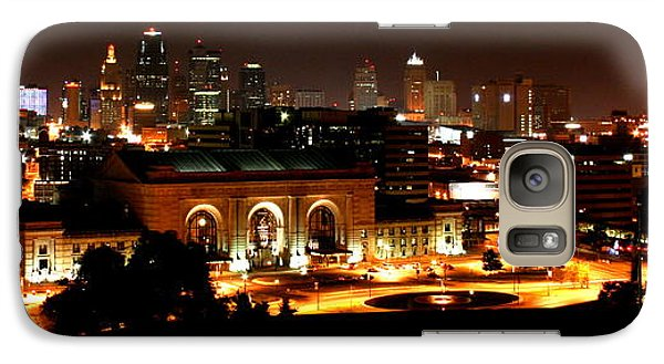 Galaxy Case featuring the photograph Kansas City Lights by David Dunham