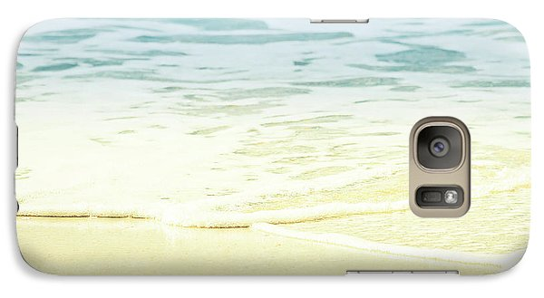 Galaxy Case featuring the photograph Kapalua Beach Dream Colours Sparkling Golden Sand Seafoam Maui by Sharon Mau