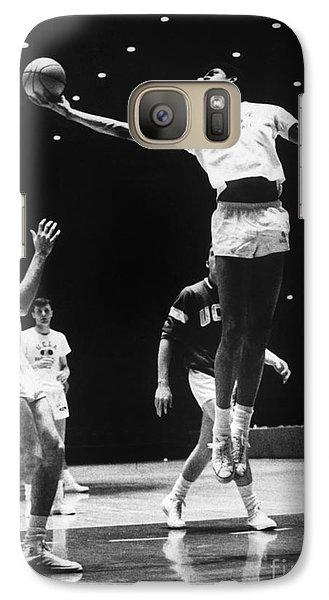 Kareem Abdul Jabbar (1947-) Galaxy S7 Case by Granger