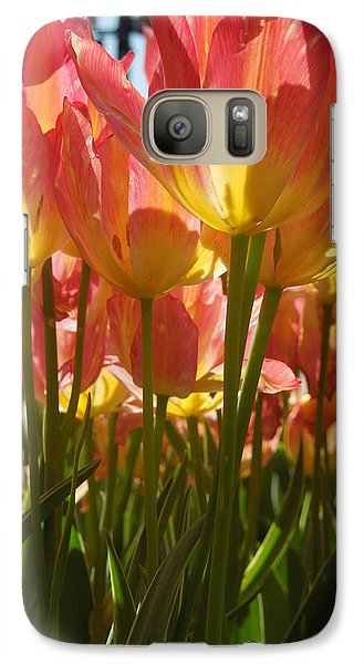Galaxy Case featuring the photograph Kathy's Tulips IIi by Peg Toliver