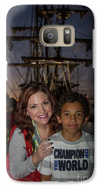 Galaxy Case featuring the photograph Katy And Baby James Art by Reid Callaway