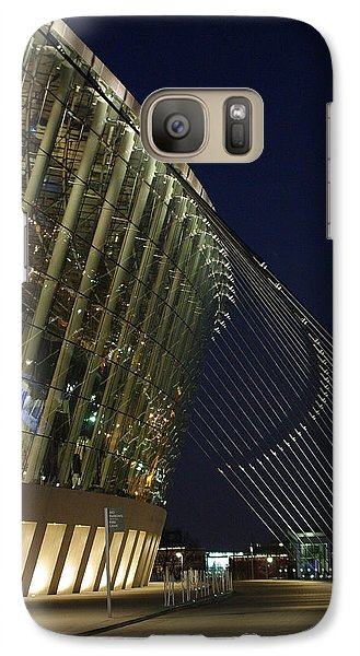 Galaxy Case featuring the photograph Kauffman Center For The Performing Arts by Jim Mathis