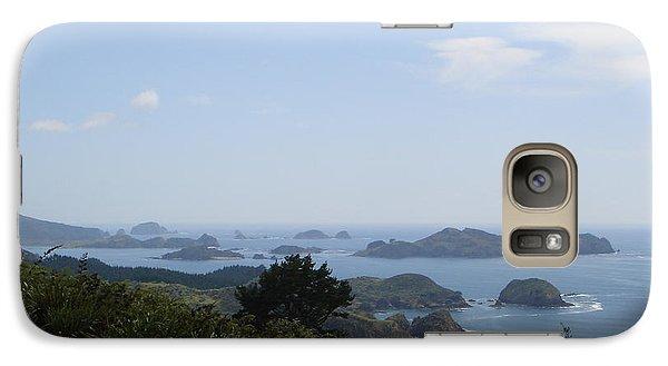 Galaxy Case featuring the photograph Kauri Cliffs Golf New Zealand by Jan Daniels