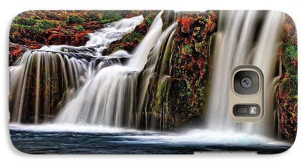 Galaxy Case featuring the photograph Kay Falls by Scott Mahon