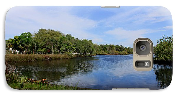 Galaxy Case featuring the photograph Kayaking The Cotee River by Barbara Bowen