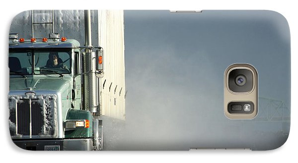 Galaxy Case featuring the photograph Keep On Truckin'... by Holly Ethan