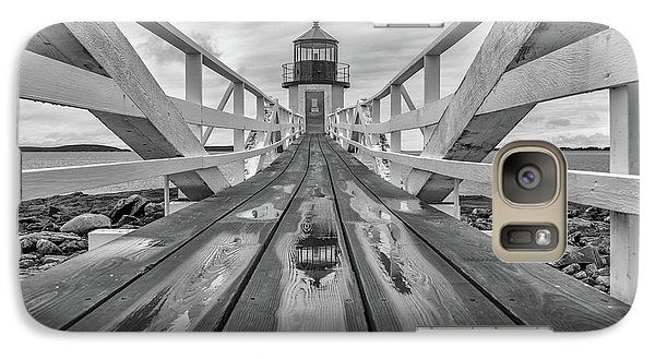 Galaxy Case featuring the photograph Keeper's Walkway At Marshall Point by Rick Berk