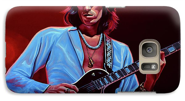 Realistic Galaxy S7 Case - Keith Richards The Riffmaster by Paul Meijering