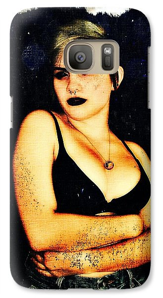 Galaxy Case featuring the digital art Kelsey 1 by Mark Baranowski