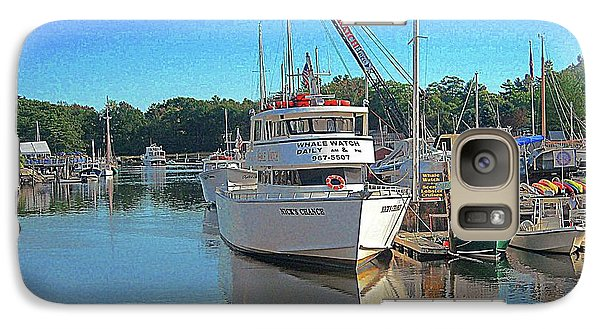 Galaxy Case featuring the photograph Kennebunk, Maine - 2 by Jerry Battle