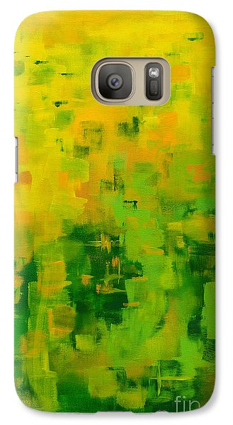 Galaxy Case featuring the painting Kenny's Room by Holly Carmichael